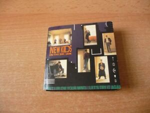 3 Inch Single CD New kids on the block - NKOTB - Let`s try it again / Didn`t I