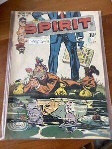 The Spirit # 15 Comic Book 1949 -Eisner