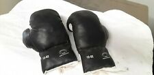 Kids Black And White 12oz Boxing Gloves