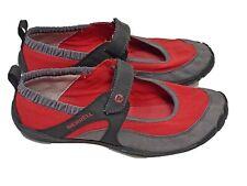 MERRELL Womens 7 Red Pure Glove Chili Pepper Barefoot Running Shoes Mary J35728