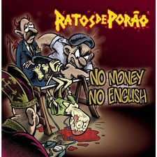 Ratos De Porão - No Money No English NEW CD Brazil Crossover Kings R.D.P.