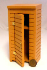 1:12 Scale Empty Tool Shed Tumdee Dolls House Miniature Garden Storage Accessory
