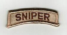 SNIPER SHOULDER TAB DESERT TAN COLOR:FA12-2