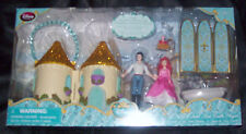 Disney Store The Little Mermaid Ariel Eric PVC Castle Playset 7 Figurine Set NIB