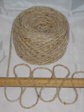 1000g 1kg Aran Cream Oatmeal Tweed 100% Pure Wool British Breed knitting EFW 601