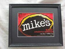 MIKE'S HARD CRANBERRY LEMONADE  BEER SIGN   #1078