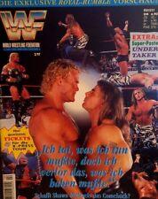 WWF Magazin 2/97 WWE Wrestling deutsch + Riesenposter UNDERTAKER