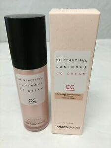 Thank You Farmer Be Beautiful Luminous CC Cream SPF 30, 40 ml 1.4 oz NEW