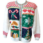 Ugly Christmas Sweater Tacky XMAS Holiday Party Sweatshirt Vest Chosen at RANDOM