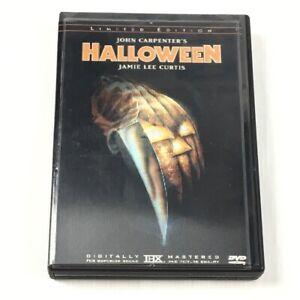 Halloween Limited Edition DVD John Carpenter Jamie Lee Curtis No 26517 Hologram