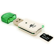 New Portable USB 2.0 Adapter Micro SD SDHC Memory Card Reader Writer Flash Drive