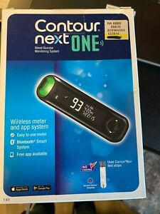 Contour Next One Blood Glucose Monitoring Wireless Meter App System