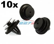 10x Plastic Trim Clips for Door Cards, Fascia & Trim Covers- Fit Various Nissan