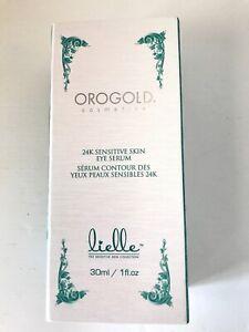 OROGOLD  24K Lielle Sensitive Skin Eye Serum 30ml NIB