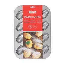Dexam Non Stick Madeleine 12 Cup Cake Pan Tin 17841541