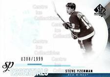 2010-11 Sp Authentic #200 Steve Yzerman