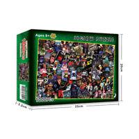 1000 Pieces Jigsaw Horror Movie Puzzle Adult Decompression Puzzle