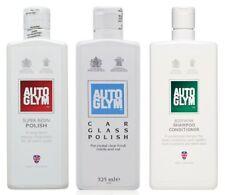 Autoglym Bodywork Shampoo Conditioner Super Resin Glass Polish Car Valet Summer