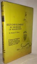 1977 MANLY P. HALL OCCULT BLACK MAGIC MANDALA SPIRITUAL ALCHEMY RARE SECRET