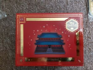 Disney Store Mulan Castle Collection Hanging Ornament Limited Edition 3 Of 10