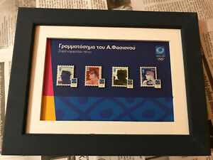 A. FASSIANOS Stamp pin series Athens 2004 Olympic Games new !!!!!