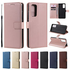 Flip Stand Card Clip Cover Case For Samsung Note 20 Ultra S20+ S20 FE S10 S9 S8