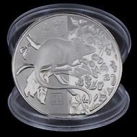 2020 Rattenjahr Gedenkmünze Chinese Zodiac Challenge Münzen Art CollecR Gxj
