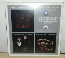 SISTERS OF MERCY - THE TRIPLE ALBUM COLLECTION - 3 CD