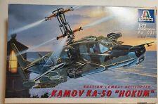 1/72 Italeri Kamov Ka-50 Hokum helicopter