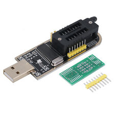 25 SPI Series 24 EEPROM CH341A BIOS Writer Routing LCD Flash USB Programmer FG