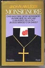 Monsignore,Leger Jack-Alain  ,Rizzoli,1977