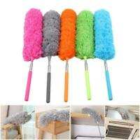 Small Microfibre Duster Cleaning Telescopic Handle Extendable Feather Brush