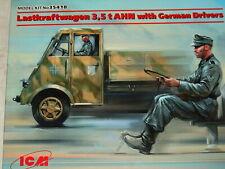 Icm 1 35 Lastkraftwagen 3 5t Ahn W.german Drivers Limited