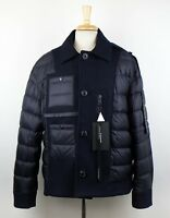 NWT MONCLER X CRAIG GREEN Blue 'Tyrion' Down Filled Puffer Jacket 4/XL $1600