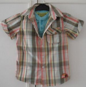 ROCHA 3-4 Y BOY'S COTTON T-SHIRT TOP WITH SHORT SLEEVE SHIRT ALL IN ONE, VGC