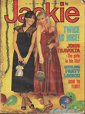 Jackie Magazine 16 December 1978 No. 780    John Travolta    Peter Powell