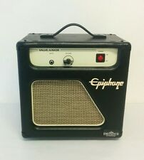 "Epiphone Valve Junior Combo 5 watt Tube Guitar Amp with 8"" Eminence Speaker"