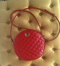 DOLCE & GABBANA Genuine Mini Bag, Quilted Red Crossbody, New Without Tag,Receipt