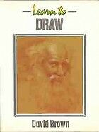 Learn to Draw (Collins Learn to Paint), Brown, David, Used; Good Book