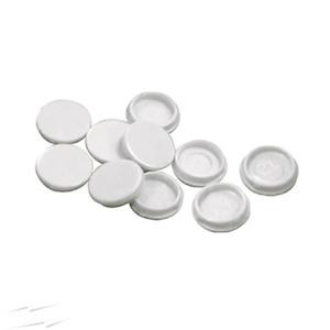 BG NEXUS PACK OF 10 SPARE SCREW CAPS COVERS STANDARD WHITE SOCKET 8SC10