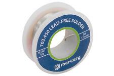 Lead-free solder, 0.6mmØ, 10g, 5m tube