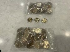 TWO UNCIRCULATED BAGS OF PRESIDENTIAL DOLLARS 120 COINS IN ALL ...IN PLASTIC ...