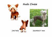 Llavero Piel Auténtica Hombre Mujer Colgante Cuero 3D Perros Desnudo Chino