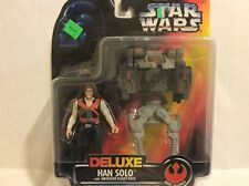 Hasbro Star Wars Deluxe Han Solo 1996