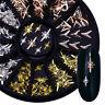 3D Nail Art Rhinestone Gem Studs Glitter Crystal Metal Decoration Wheel DIY Tips