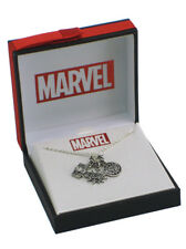 Spider-Man Pendant Necklace Marvel Comics Super Heroes Pow! New In Box