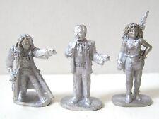 SHADOWRUN RPG Archetype Miniatures Set Of 3 Vintage Grenadier 1980s (1301)