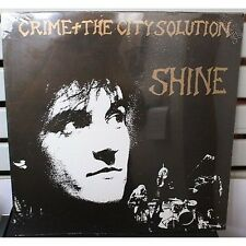 CRIME + THE CITY SOLUTION - Shine - LP VINYL PROMO 1988 SEALED MADE IN ITALY