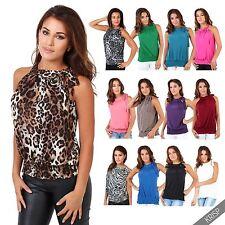Damen-Trägertops mit Neckholder Damenblusen, - tops & -shirts für Party-Anlässe