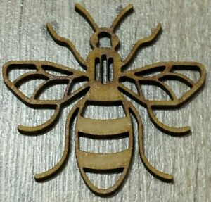 MDF Manchester Bee cut out x20, Embellish, Colour, Paint, Glitter,